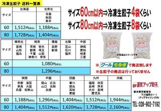 餃子 宅急便価格表.jpg
